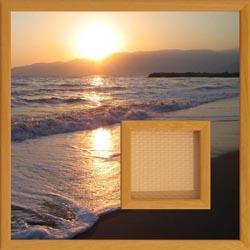 cadre photo carré troué