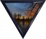triangle bleu marine