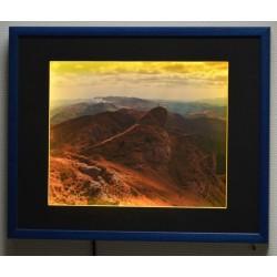 Cadre photo LED RGB carré à pile